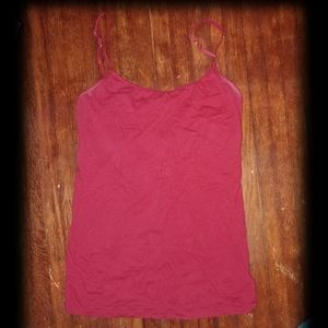 Red stretchy tank top cami from AEROPOSTALE